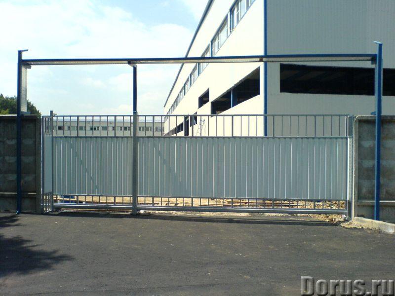 Промышленные ворота - Строительные услуги - Надежность и долговечность эксплуатации промышленных вор..., фото 1